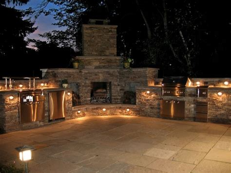 Outdoor Kitchen Lighting Ideas 261 Best Outdoor Kitchen Design Ideas Images On Outdoor Cooking Outdoor Kitchens