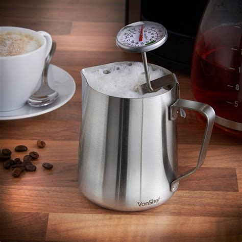 Milk Jug Professional Latte Coffee Latte Cappuccino 350ml 1 best milk frothing jug reviews 2018 for steamed milk and