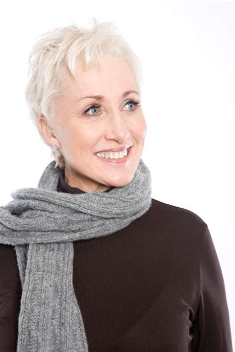 hairstyles for seniors with grey hair gallery of short hair styles for senior women slideshow