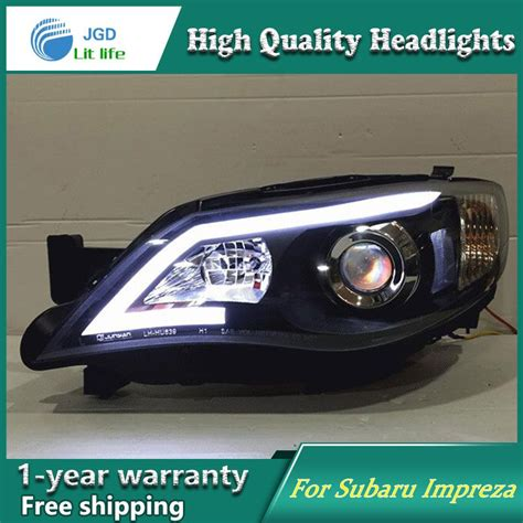 subaru headlight styles auto clud style led l for subaru impreza wrx sti
