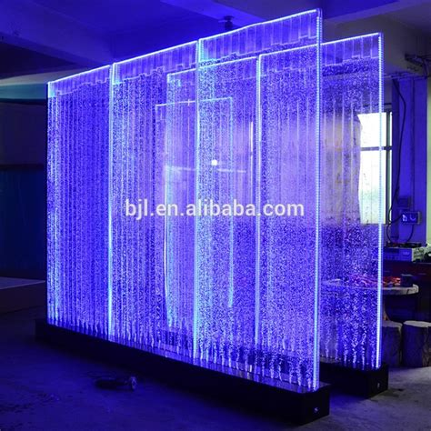 Layar Wall Projector wall led indoor water panel dinding fitur