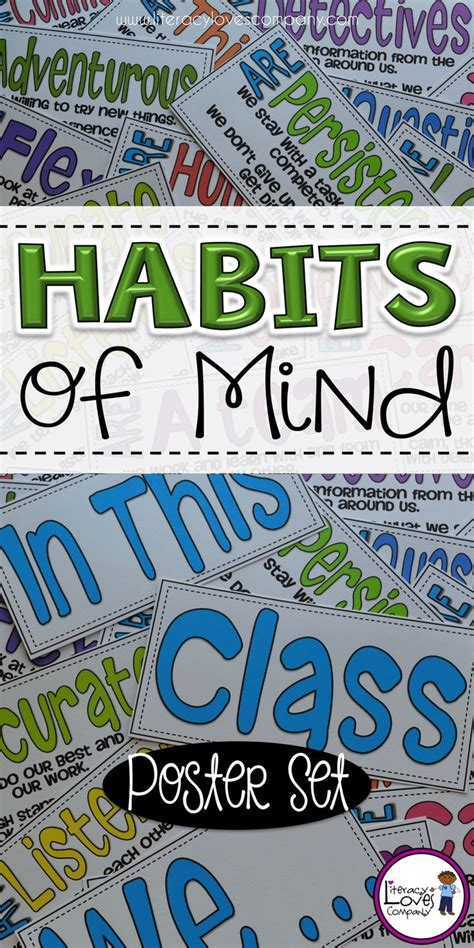 Habits Mighty Minds 159 Best Images About Literacy Tpt On Assessment 5th Grade Classroom And