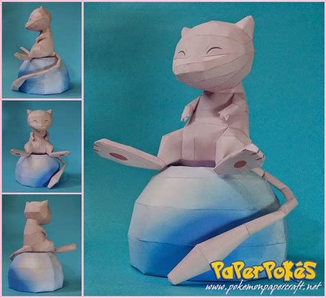 Mew Papercraft - 130 best images about papercraft on