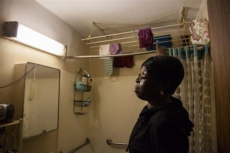 public housing residents wary  mayor de blasios plan