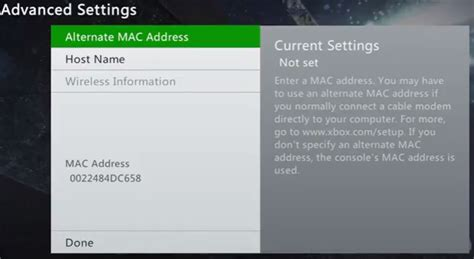 Search Mac Address On Finding The Mac Address On Xbox Its Help Center