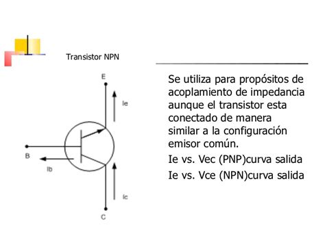 transistor npn definicion transistores
