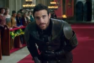 watch as knights and noblemen sing alan menken in abcs