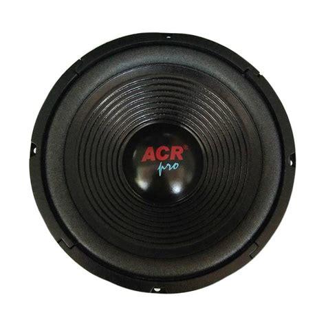 Speaker Acr Berbagai Ukuran jual acr pro 25h100 wofer speaker 10 inch 400 watt harga kualitas terjamin