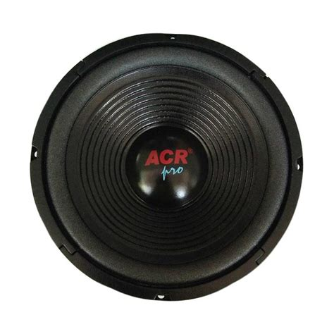 Speaker Acr Pro 10 Inch jual acr pro 25h100 wofer speaker 10 inch 400 watt harga kualitas terjamin