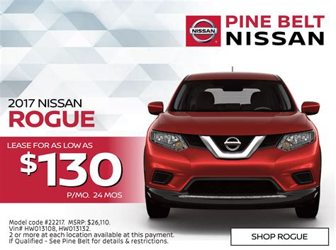 nissan lease special new nissan lease specials