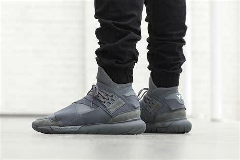 Sepatu Adidas Y3 Qasa High Black y 3 qasa high vista grey sneaker bar detroit