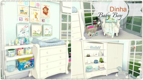 sims 4 nursery sims 4 baby boy nursery dinha