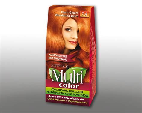 ammonia free hair colour multicolor