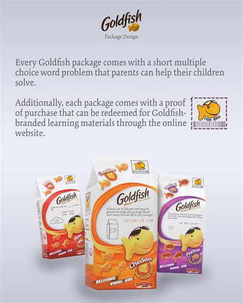 Parenting Relying On Goldfish For Help by Goldfish Crackers On Behance