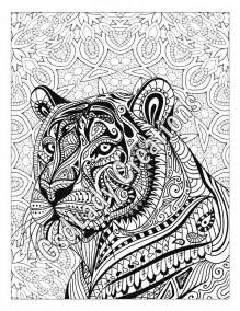 zen tiger animal art color zentangle animal zentangle drawing zentangle animals