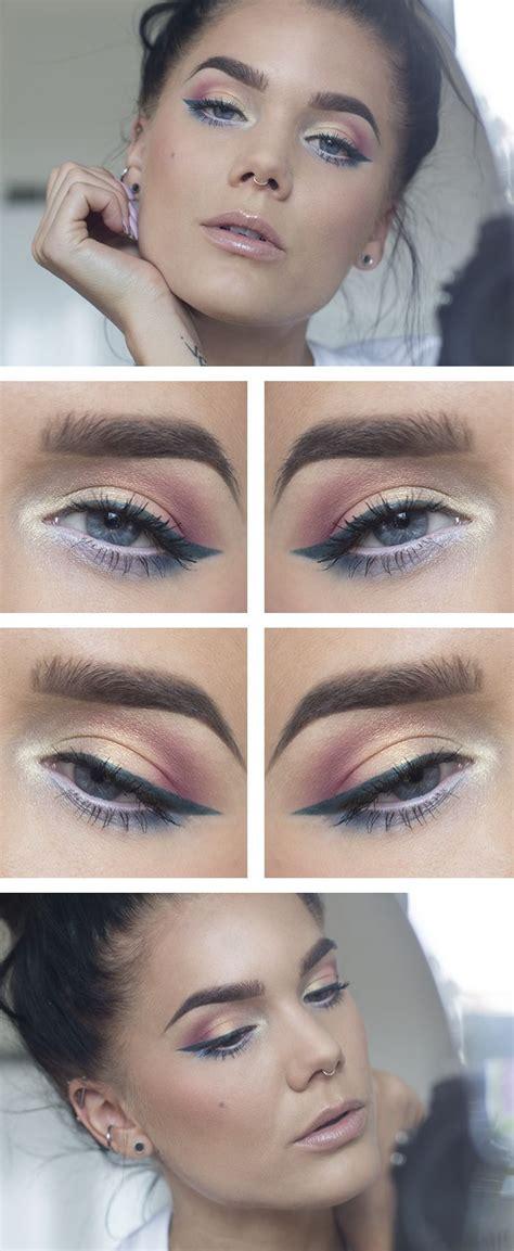 tutorial makeup lulu 25 melhores ideias sobre nars eyeshadow palette no