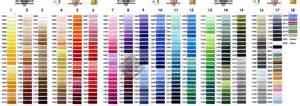 color marathon marathon embroidery threads rayon viscose
