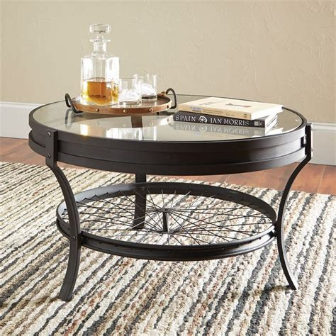 coaster glass top coffee table in black ebay