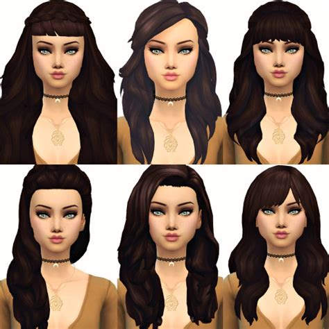 sims 4 maxis match cc hair sims 4 maxis match hair tumblr