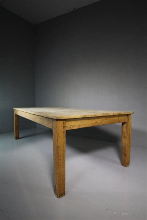 Large Farmhouse Dining Table Large Antique Sycamore Farmhouse Dining Table Antiques Atlas