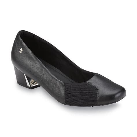 comfortable heels for bunions usaflex women s josefina leather bunion comfort pump black