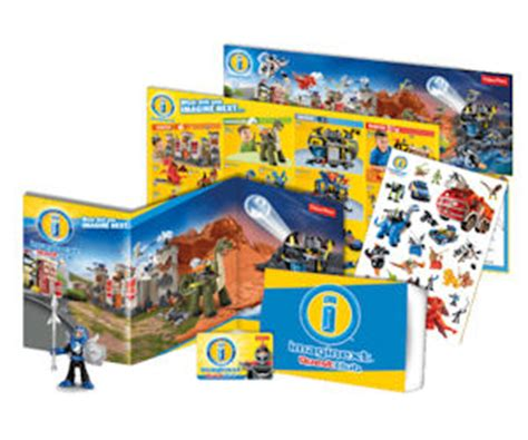 20000 Grocery Giveaway - pick up a free fisher price imaginext goody bag at smyths toys free stuff freebies