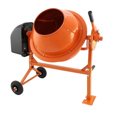electric cement mixer 70 litre 250w portable concrete