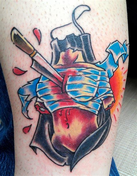 my new dexter themed friday the 13th tattoo done by