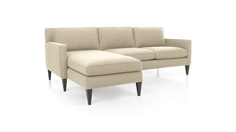 2 sectional sofa rochelle 2 sectional sofa audra desert crate and