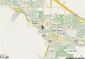rancho mirage california map map of rancho las palmas resort spa rancho mirage