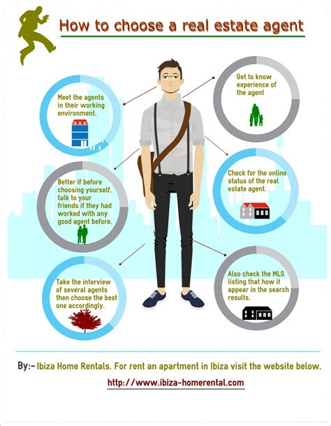 how to be a realtor how to choose a real estate agent infographics