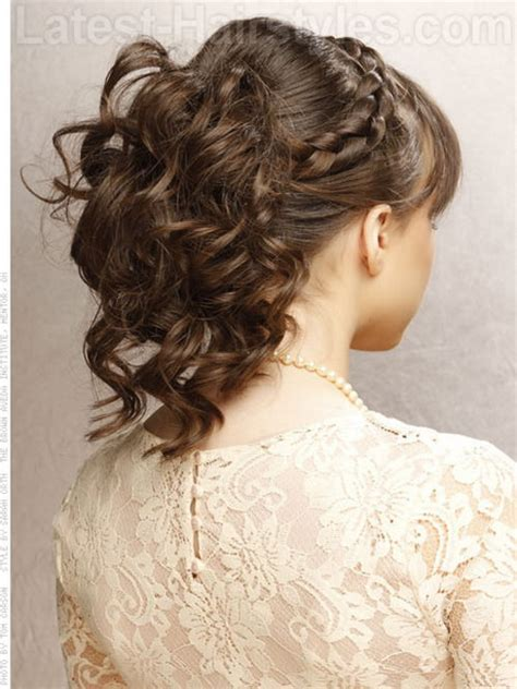 how to updo layered hair prom hairstyles for layered hair