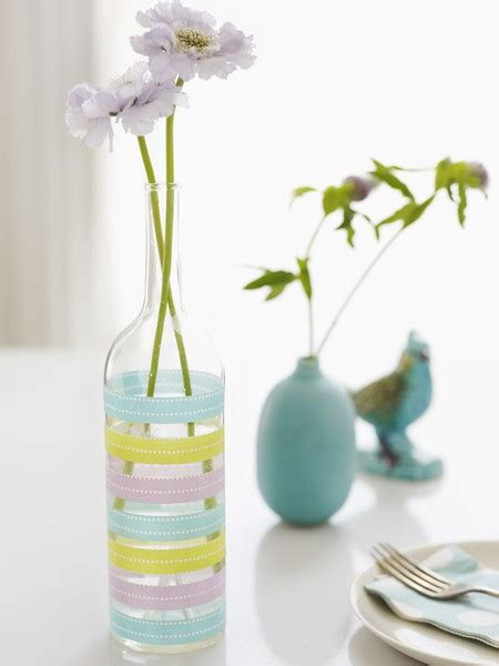 5 easy ways to decorate plain vases