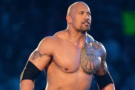 dwayne johnson getting tattoo the rock got rid of an iconic part of wwe attitude era