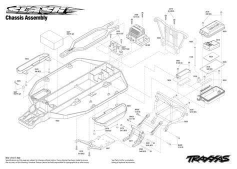 traxxas slash 4x4 parts diagram traxxas 1 10 scale slash pro 2wd course race truck