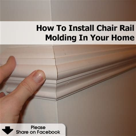 how to install chair rail how to install chair rail molding in your home