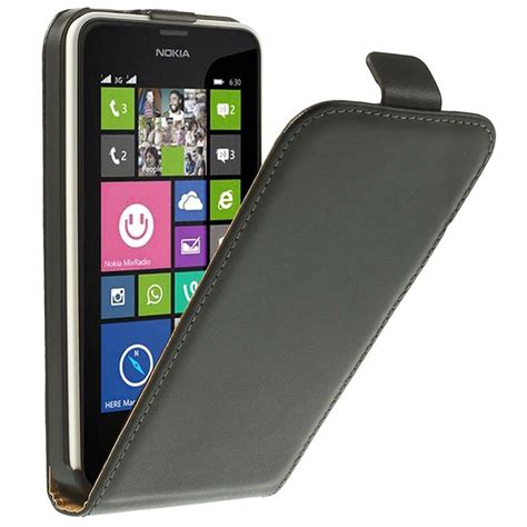 Casing Nokia Lumia 630 nokia lumia 630 lumia 630 dual sim vertical flip leather