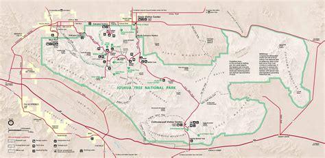 joshua tree map joshua tree national park map map2