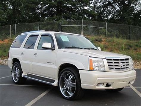 how cars work for dummies 2004 cadillac escalade esv electronic throttle control sell used cadillac escalade 2004 6 0 v8 awd custom 24 inch wheels low reserve price set in