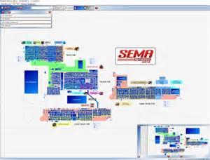 Sema Show Floor Plan 2012 Sema Show Floorplan Goes Digital Sema
