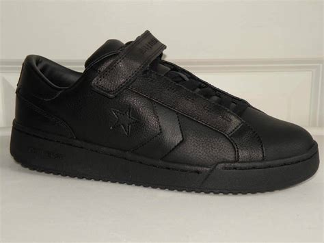 all leather athletic shoes converse all sneaker pro clssic ox black leather