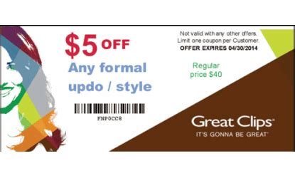 2016 great clips 5 off great clips coupon sunbury hair salon health and