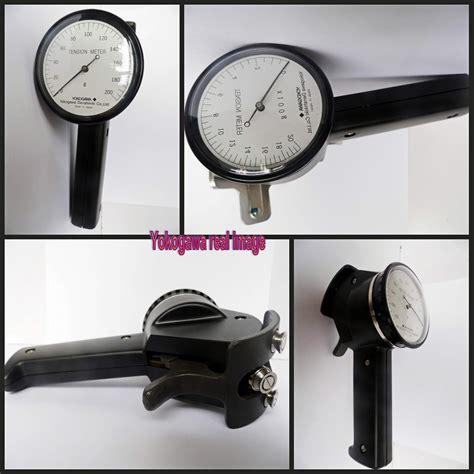 Tension Meter Yokogawa Yokogawa Tension Meter Textile Testing Meter Buy Tension