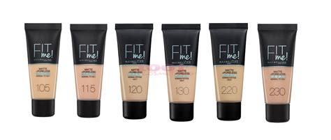 Maybelline New York Matte Poreless Fit Me Foundation maybelline fit me matte poreless fond de ten