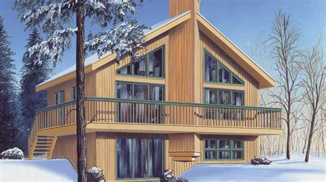 Walkout Bungalow Floor Plans by Chalet Home Plans Chalet Home Designs From Homeplans Com