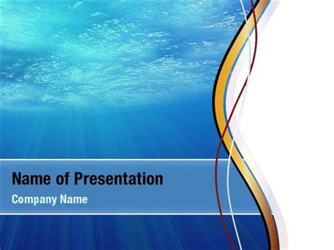 Water Theme Powerpoint Templates Water Theme Powerpoint Backgrounds Templates For Powerpoint Microsoft Powerpoint Templates Water