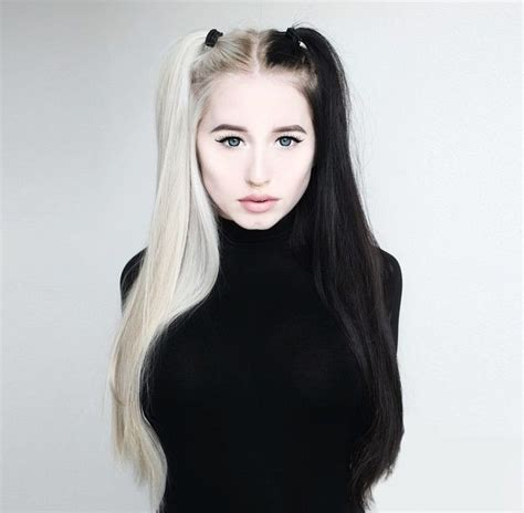black and platinum hairstyles 325 best images about black blonde hair on pinterest