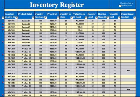 free inventory spreadsheet template excel and product inventory
