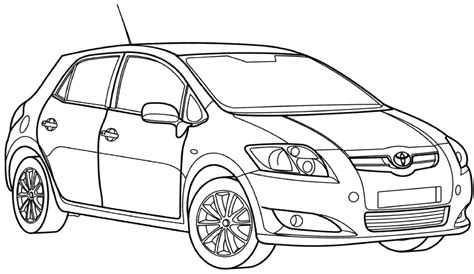 toyota car coloring page tundra coloring pages toyota grig3 org