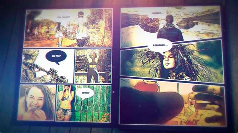 After Effects Comic Book Template Free